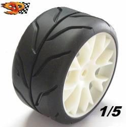 "SP Tyres Gomme 1/5 DIABOLIK SPORT Radiale ""A"" Morbida (art. SP06100)"