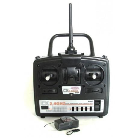 Jamara Radiocomando 4 canali CX 2,4GHz Mode1 (art. 061104)
