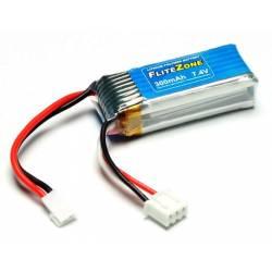 Pichler Batteria Li-po FliteZone 7,4V 300mAh per Mini Domino (art. C9804)