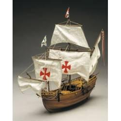 Mantua Model Caravella Santa Maria L'ammiraglia di Cristoforo Colombo scala 1/50 Lunghezza 760mm (art. 775)