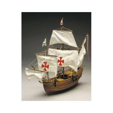 Mantua Model Santa Maria L'ammiraglia di C. Colombo scala 1/50 Lunghezza 760mm (art. 775)
