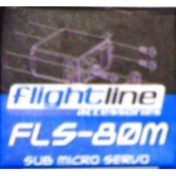 Flightline Servocomando Metallico FLS-80M (art. HFL1804)