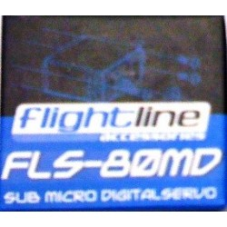 Flightline Servocomando Digitale Metallo FLS-80MD (art. HFL1806)
