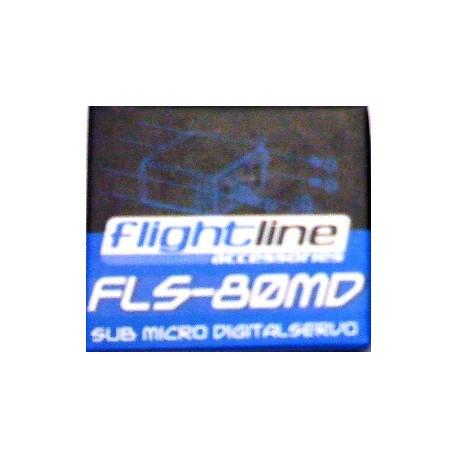 Flightline Servocomando Digitale Metallo FLS-80MD (art. HFL1806)