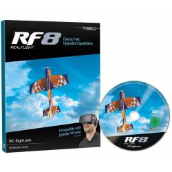 Great Planes Interfaccia simulatore RealFlight RF 8 Software only NO trasmittente (art. GPMZ4558)