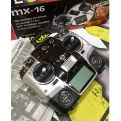 Occasione Trasmettitore Graupner MX-16 HoTT 8 canali