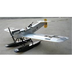 "Maxford USA Idrovolante Hansa Brandenburg W.29 53"" ARF con galleggianti (art. ARF-E-HB29)"