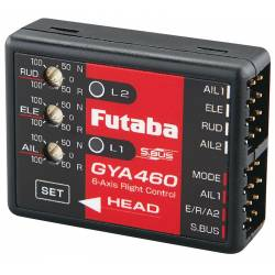 Futaba Giroscopio GYA460 6 Axis SBus Airplane Gyro Flight Stabilizer (art. 254)