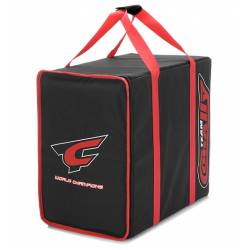 Team Corally Borsa Carrying Bag con 3 cassetti in plastica corrugata (art. COR90241)
