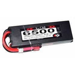 Rc System Batteria Li-po 7,4V 6500mAh 30C DEANS (art. SAF09004)