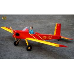 VQ Model Aeromodello Volksplane VP-1 Rosso 1600mm ARF 46 EP/GP (art. C8311)