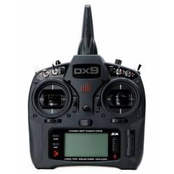 Spektrum Trasmittente DX9 DSMX Black Edition 9 ch con batteria e caricatore (art. SPMR9910EU)