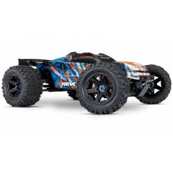 Traxxas E-Revo Brushless 2.0 VXL 6S Monster Truck elettrico carrozzeria Arancione (art. TXX86086-4)
