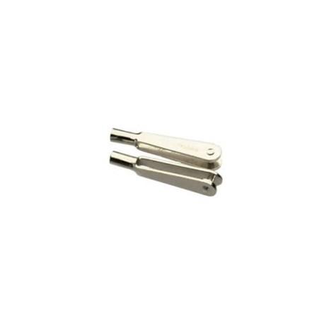 Robbe Forcelle metalliche da 2MA 26mm 10 pezzi (art. 6133)