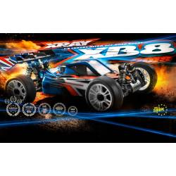 Xray Automodello XRAY XB8 2018 Specs 1/8 Luxury Nitro Off-Road (art. 350013)