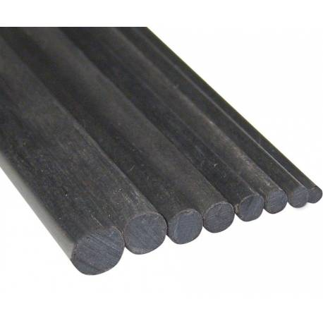 Robbe Barra tonda carbonio diametro 8x1000 mm 1 pezzo (art. 78510012)