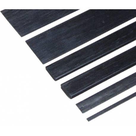 Robbe Listello di carbonio 0,6x5x1000 mm 1 pezzo (art. 57810)