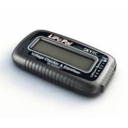 SkyRc Analizzatore ed equalizzatore di Batterie Li-po 2-6S (art. SK500007)