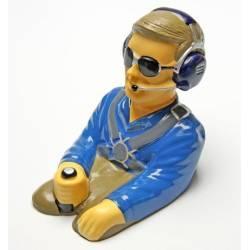 Pichler Pilotino con busto altezza 130mm larghezza 100mm peso 30gr (art. C5776)