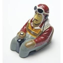 """Pichler Pilotino con busto """"Sea Fury"""" altezza 125mm larghezza 100mm peso 30gr (art. C5770)"""