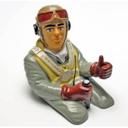 Pichler Pilotino con busto Westland altezza 140mm larghezza 110mm peso 45gr (art. C5772)