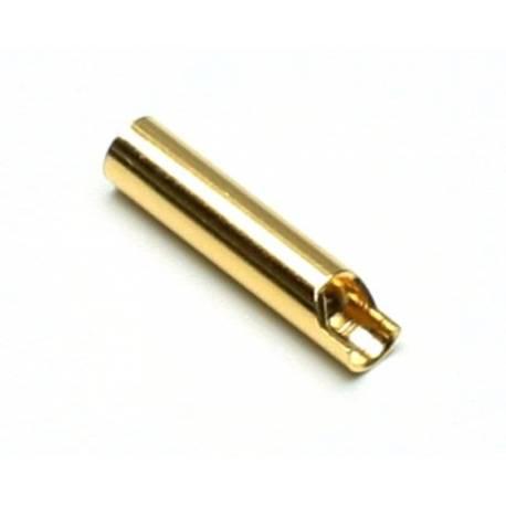 Robbe Connettore 3mm Femmina Dorato 1 pezzo (art. 4113)