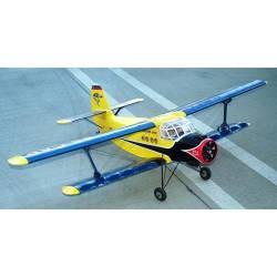 "Maxford USA Biplano Antonov AN-2 1/11 62"" ARF (art. MAX002)"