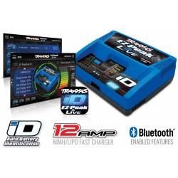 Traxxas Caricabatterie EZ Peak Live Bluetooth 12Amp Ni-Mh / Li-Po con ID technology (art. TXX2971G)