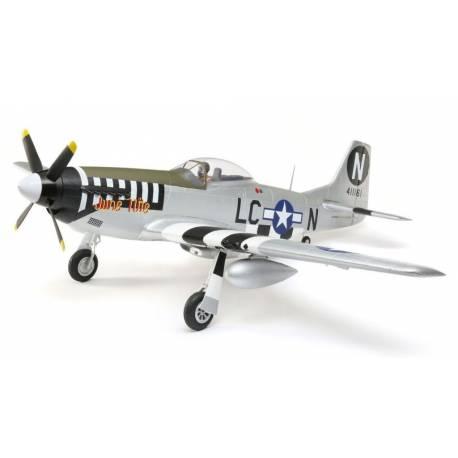 E-flite Aeromodello elettrico P-51D Mustang 1200mm PNP (art. EFL8975)