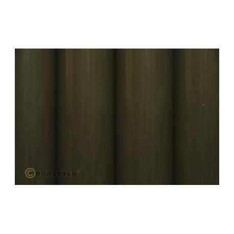 Oracover 2 mt olive drab verde militare (art. 21-018-002)