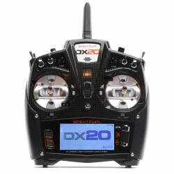 Spektrum DX20 DSMX 20Ch con AR9020 Mode 2 (art. SPM20000)