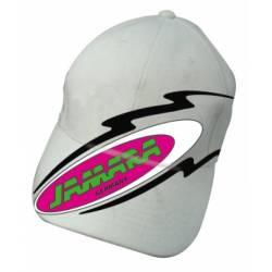 Jamara Cappellino Bianco ricamato con nuovo logo (art. 185697)