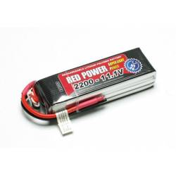 Pichler Batteria Li-po 11,1V 2200mAh RED POWER SLP 25C (art. C9409)