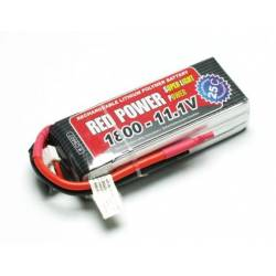 Pichler Batteria Li-po 11,1V 1800mAh RED POWER SLP 25C (art. C9407)