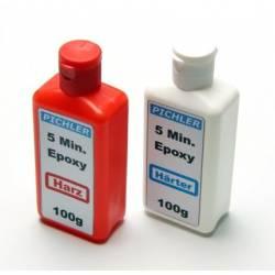 Extron Resina epossidica a due componenti da 5 minuti confezione 200 gr. (art. X3598-200)