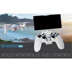 Yuneec Set quadricottero BREEZE 4K con controller, 2 Lipo e caricabatteria da auto 12V (art. YUNFCAEUWAL)