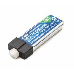 E-flite Batteria Li-po 3,7V 500mAh 1S 25C High Current UMX Connector (art. EFLB5001S25UM)