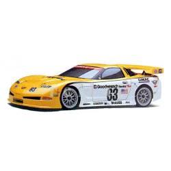 Kyosho Carrozzeria Chervolet Corvette C5-R PureTen Body 200mm Trasparente (art. 39173)