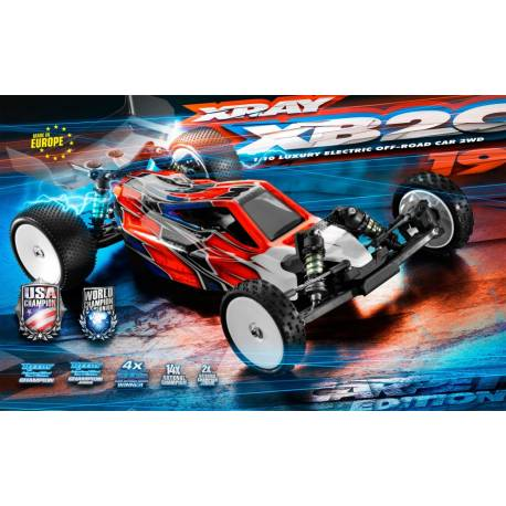 Xray XB2 2019 2WD 1/10 Electric Off-Road Car Carpet Edition (art. 320006)