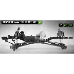 Axial Kit di montaggio SCX10 II Raw Buiders Kit 1/10 (art. AXI90104)