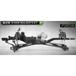 Axial Kit di montaggio SCX10 II Raw Buiders Kit 1/10 (art. AXI90104)