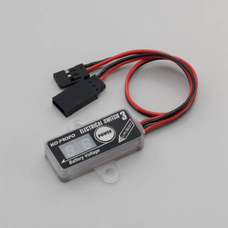 KO Propo Electrical Switch 3 interruttore elettronico 5-10V 8-14A (art. KO60230)
