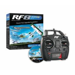 Horizon Hobby Simulatore di volo RealFlight RF8 HB Edition con InterLink-X Controller (art. RFL1000)