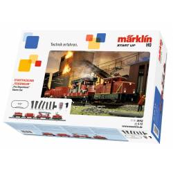 Marklin Confezione di avvio Treno dei Vigili del Fuoco con carri 230 volt (art. 29752)