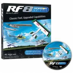 Horizon Hobby Simulatore di volo RealFlight RF8 HB Edition solo Software (art. RFL1001)