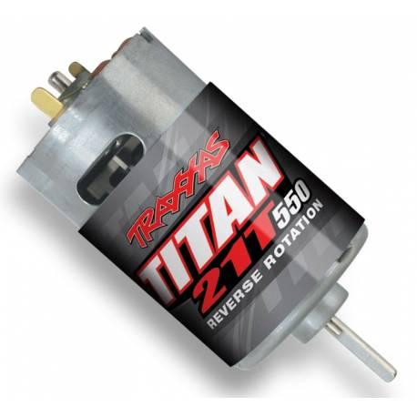 Traxxas Motore elettrico Titan 550 21T Reverse rotation 14V (art. TXX3975R)