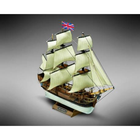Mini Mamoli Fregata britannica HMS Bounty scala 1/135 (art. MM01)