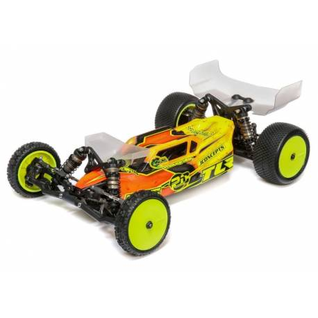 TLR Automodello 22 5.0 scala 1/10 2WD Buggy AC Race Kit, Astro / Carpet (art. TLR03017)