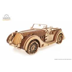 Ugears Modello di auto Roadster Sportcabrio VM-01 in legno da assemblare (art. SI-70052)