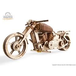 Ugears Modello di Moto Custom Bike VM-02 in legno da assemblare (art. SI-70051)